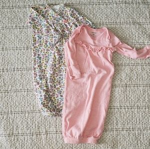 Baby girl sleeping gowns